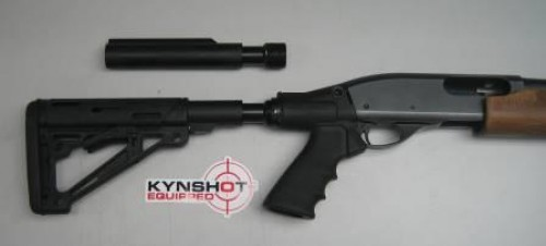 KynSHOT Tactical Shotgun Buffer Installed